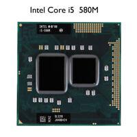 Intel Core i5-580M CPU 2.66 GHz 988-Pin 32 NM Dual-Core Processor Used Original