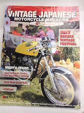 Vintage Japanese Motorcycle Magazine Barber Festival Dec/Jan 2014 032817nonR