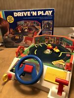 RARE VINTAGE 1985 Drive N Play Console by Thundercats ByTobin Wolf Car Complete
