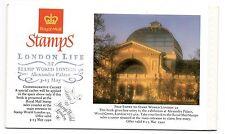 1990 London Life Prestige Booklet Stamp World overprint. Very Fine. Stamps