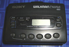 Sony Digital Walkman WM-FX28 FM/AM 10 Presets Radio Cassette  Alarm Tested