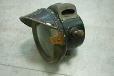 vintage motorcycle Lucas acetylene No 331 headlamp