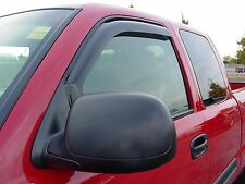 In-Channel 2 piece Vent Visors for a Ford Ranger 1993 - 2011