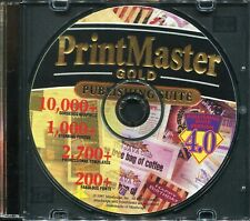 Print Master Gold - Publishing Suite 4.0 Version (PC CD-ROM)