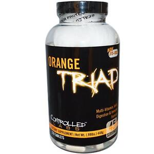 CONTROLLED LABS ORANGE TRIAD - 270 CAPS TABLETS - MULTI VITAMIN