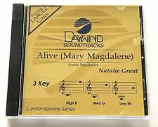 Daywind - Natalie Grant - Alive (Mary Magdalene) - accompaniment track cd