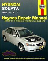 SONATA SHOP MANUAL HYUNDAI SERVICE REPAIR BOOK HAYNES CHILTON OWNERS WORKSHOP