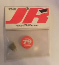 JR JRPXFR Receiver Crystal CH 79 75 MHz Ground NIP