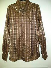 Angelino Men's Button Long Sleeves Dress Shirt Size XL