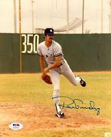 Ron Guidry autographed signed MLB New York Yankees 8x10 photo PSA COA
