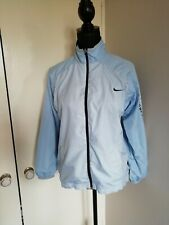 Nike Air Max Jacket Girls Ladies Small Age 12/13 8/10 Pale Blue Athletics Sport