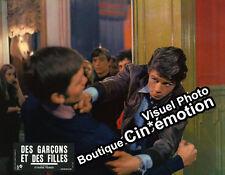 8 Photos Cinéma 22x28cm (1968) DES GARÇONS ET DES FILLES Ludmila Mikael, Garcia