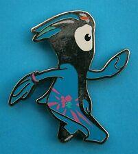 F939*) Enamel 2012 London Olympic Mascot tie lapel pin badge