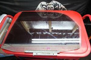 07-13 Suzuki SX4 Driver Left Rear Door Glass Hatchback