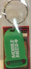 Brand New Green Keychain MOBILE MEDS ~PILL BOX Porte-Cle BOITE A MEDICAMENTS~NWT