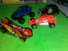 2000 Hot Wheels #112 Virtual Collection Turbo Flame lot of 4 Masito,MATCHBOX,