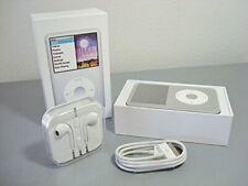 New Apple iPod Classic 7th Gen 160GB Silver 2 Year Warranty USA Fast Free Ship