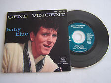 CD SINGLE DE GENE VINCENT , BABY BLUE . 4 TITRES  . TRES BON ETAT .