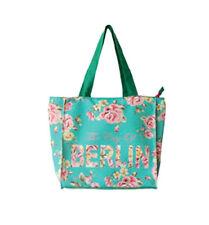 ROBIN RUTH City Shopper Tasche Berlin Flowers NEU/OVP Städtetasche Grün Rosen M