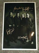 Willie Nelson Johnny Cash Waylon Jennings Kris Kristofferson Autographed Photo