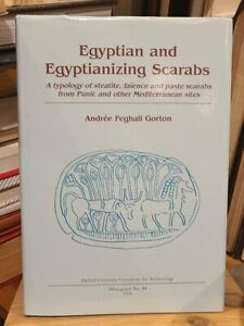 Egyptian and Related Scarabs in Mediterreanean Sites Ancient History HC