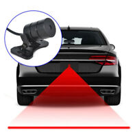 Car Motorcycle Laser Fog Light Anti Collision Tail Braking Signal Warning L FA