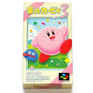 Nintendo Hoshi no Kirby 3 (Kirby's Dream Land 3) Super Famicom SFC SNES action