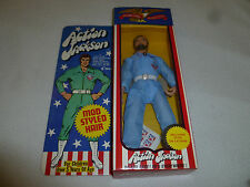 "NEW IN BOX ACTION JACKSON MEGO FIGURE 8"" DOLL VINTAGE 1971 MINT MOD STYLED HAIR"