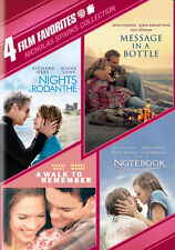 A WALK TO REMEMBER/MESSAGE IN A BOTTLE/NIGHTS IN RODANTHE/THE NOTEBOOK on DVD