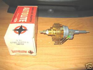 NOS 1967 Mercury Monterey Park Lane Marquis Intermittent Windshield Wiper Switch