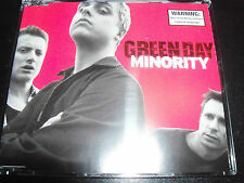 Green Day Minority Australian 4 Track CD Single