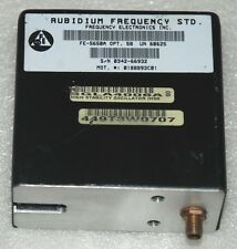 RUBIDIUM ATOMIC FREQUENCY STANDARD FE-5650A OPT-58 OUTPUT 10MHz