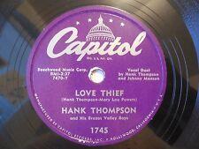 Hank Thompson Love Thief / How do you Feel Capitol 1745 VG++
