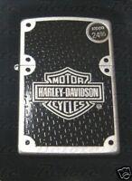 Zippo Harley Carbon Fiber Street Chrome Lighter 24025