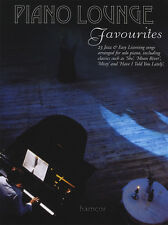 Piano Lounge Favourites Solo Piano Sheet Music Book Jazz & Easy Listening