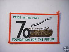 GILWELL PARK 70 ANNIVERSARY PATCH