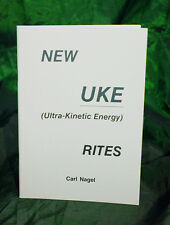 NEW UKE RITES BY CARL NAGEL  - Finbarr Books, Magic, White Magick Grimoire