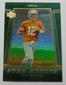 2000 Upper Deck #254 Tom Brady New England Patriots RC Rookie