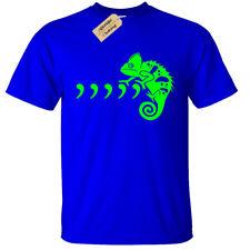 Kid's Comma Chameleon T-Shirt   3 - 13 yrs   funny 80's 90's Boys Girls