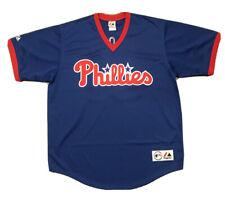 New listing Vintage Philadelphia Phillies Jim Thome #25 Blue Majestic Jersey Sz XL