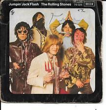 """45 TOURS / 7""""--THE ROLLING STONES--JUMPIN'JACK FLASH / CHILD OF THE MOON--1968"""