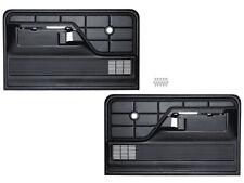 New 1973-79 F100 Door Panels Std Black LH RH F250 F350 Pickup 78-79 Bronco Ford