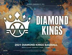 KANSAS CITY ROYALS 2021 PANINI DIAMOND KINGS BASEBALL 1/3 CASE 4BOX TEAM BREAK 2