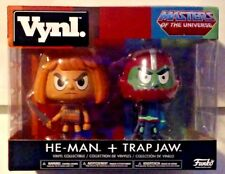Vynl. Masters of The Universe He-Man and Trap Jaw New MISB Funko