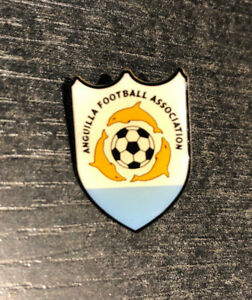 Alte Anstecknadel / Pin Fußballverband Anguilla, Anguilla Football Association
