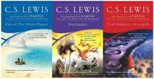 CS Lewis SPACE TRILOGY Sci Fi Series PAPERBACK Collection Set of Books 1-3