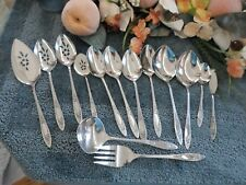 Oneida 18/8 USA Community Stainless VIGNETTE 15pc Serving Lot Excellent