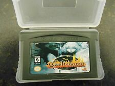 Game Boy Advance Castlevania: Aria Of Sorrow FEE  PLASTIC CASE UK SELLER