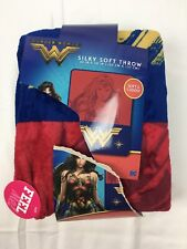 New Wonder Woman Sikly Soft Throw Blanket 40x50""