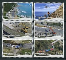 NZ 2018 MNH Reconnecting New Zealand 6v Set Bridges Trains Architecture Stamps